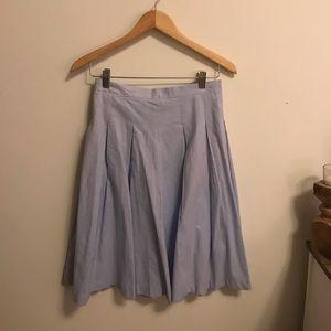 5 for $30/ Esley light blue midi skirt